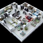 Marival Distinct: THREE BEDROOM RESIDENCE